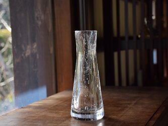 底厚泡螺旋花瓶の画像