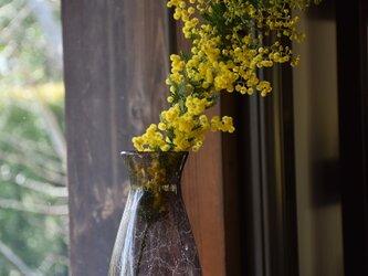 網泡花瓶grigioの画像