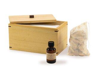 お得なセット ウィルスや花粉に負けるな!マスクケース&ヒバの香り&ヒバサシェの画像