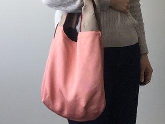着物地の手提げバッグ 江戸小紋角通しの画像