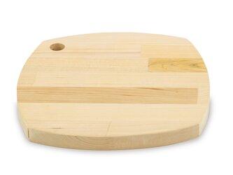 削り直し無料 カビに強い 青森ヒバのカッティングボード 柔らかな四角 寄木の画像