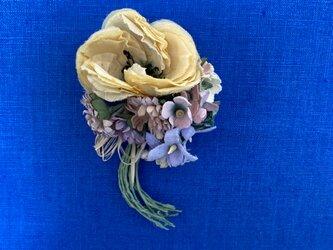 布花 Corsage petit bouquet Fの画像