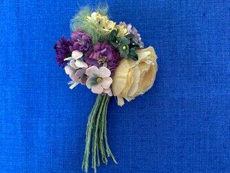 布花 Corsage petit bouquet Hの画像