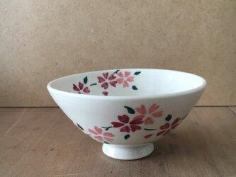 桜の飯碗の画像