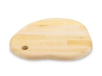 削り直し無料 カビに強い 青森ヒバのカッティングボード ヒバじゃが 寄木 R加工の画像