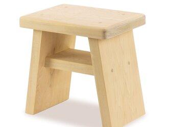 ヒヤッとしない 青森ヒバのお風呂の椅子(大) ふるさと納税品で人気の画像