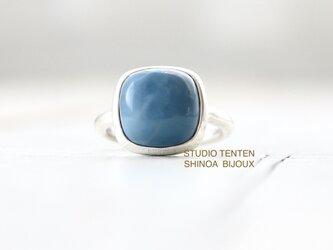 grayishなブルーオパール ringの画像