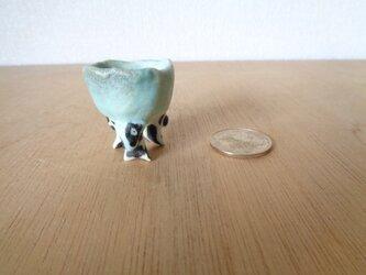 ミニ植木鉢 ウシの画像