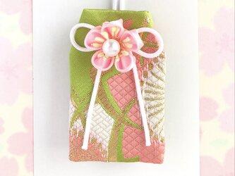(萌桜)元巫女が作る花のお守り袋の画像