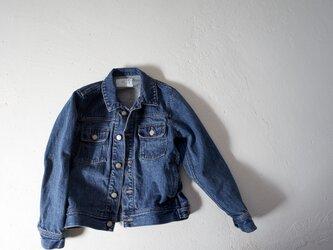 14oz. jean jumper/vintage washの画像