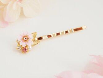 *つまみ細工* 桜と春のかけらヘアピン ~花の宴~の画像