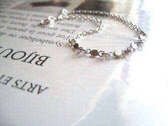2種のチェーン組み合わせ・Braceletの画像
