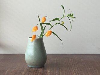 花器小-2 緑の画像