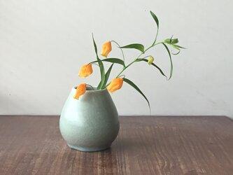 花器小-1 緑の画像