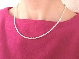 simple tansui necklaceの画像
