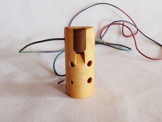 木のオカリナ ヒサカキ アルト管 G管の画像