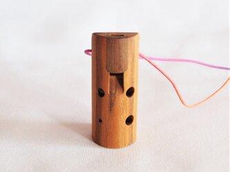 木のオカリナ ニセアカシア アルト G管の画像
