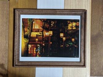 風景写真6PW 森のカフェの画像