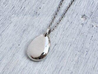 「ハンドメイドミニプレートペンダント」silver925 p627 小の画像