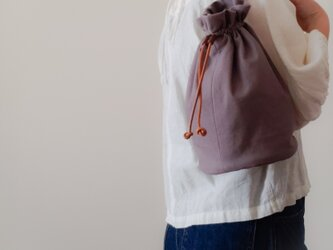 Cotton One shoulder ruck sack-short 【受注制作】 コットンワンショルダーリュック ショートの画像
