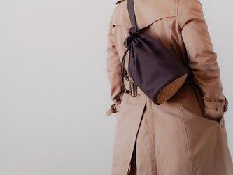 Cotton One shoulder ruck sack-long 【受注制作】 コットンワンショルダーリュック ロングの画像