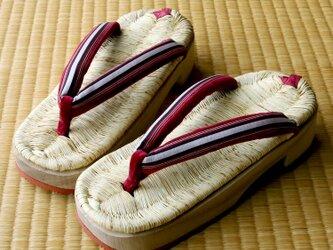 『日光下駄』8寸(約24~25cm)■栃木県の伝統工芸品■手仕事一点物【在庫有り】の画像