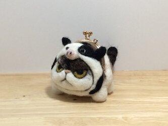 ☆十二支猫がま口  丑年の画像