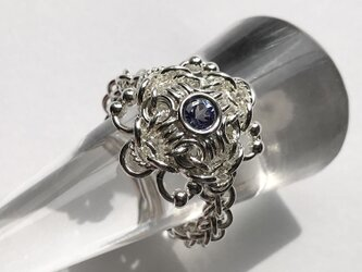『 Wind flower ( SP-tan21' ) 』Ring by SV925の画像