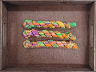 インダスからの贈り物【オリジナル段染め糸  細】(492) 1本の画像