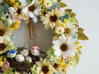 Wreath ~Easter Bunny's Magic Key(TM)~  28cmの画像