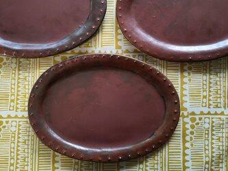 楕円皿・プツプツ(大)の画像