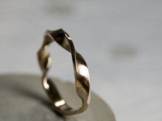 鏡面 PGPピンクゴールドツイストリング 3.0mm幅 ミラー|PGP RING bs|432の画像