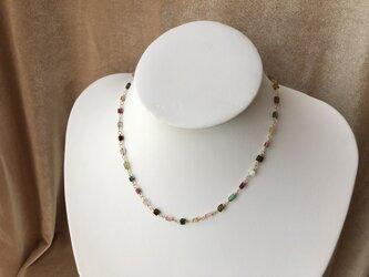 トルマリンのネックレスの画像