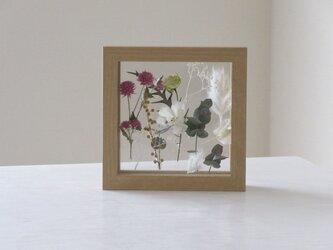 framed flower garden(s)*受注制作の画像