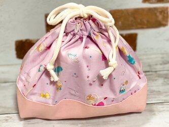 ちょっと大きめ お弁当袋 【バレリーナ★ピンク】の画像