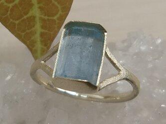 aquamarine*K10 ringの画像