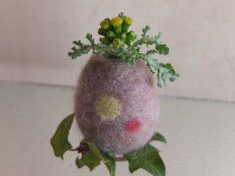 桜鼠のフラワーエッグの画像