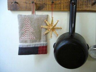 なべつかみ ー12月のキッチンーの画像