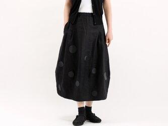 バルーンスカート(革ドット)#363の画像