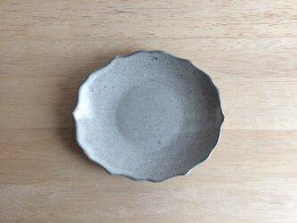 稜花オーバル小皿(白)の画像
