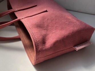 miniバッグ/横タイプ/サーモンピンク×サーモンピンクの画像