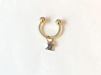 真鍮針突柄曲金具鍵束イチチブシ rz-32の画像