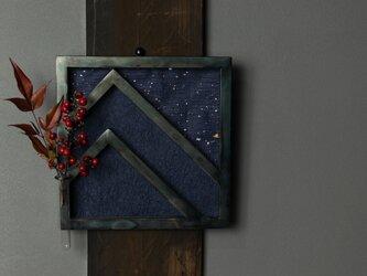 星空の思い出 アイアンと和紙の一輪挿しの画像