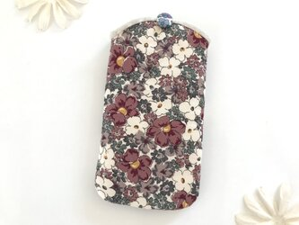 スマホケース 花柄の画像