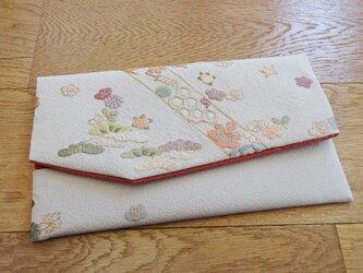 刺繍を楽しむ金封袱紗(K様ご注文品)の画像