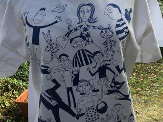 Tシャツ「いそがしいヒト ひまなヒト」の画像