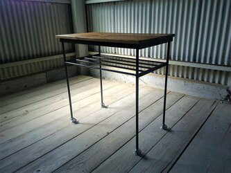 【展示作品】ムービングワークテーブル(gishi様仕様)の画像