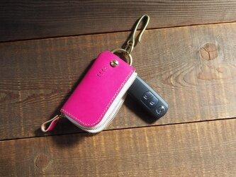 +10mm スマートキーケース 真鍮フック【受注製作】の画像