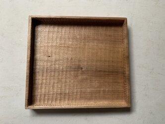 角盆  クルミの画像