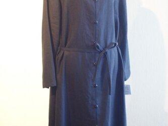 リネン ブリティシュワンピースコートの画像